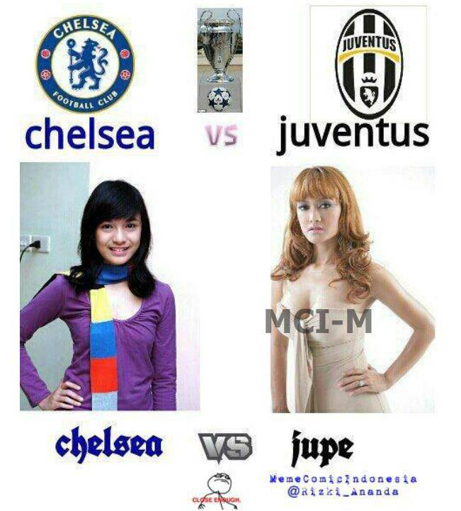 Chelsea Vs Jupeee... Just For Fun