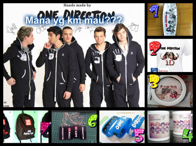 Mana yg km Mau????,,Wow and Comment Directioners..