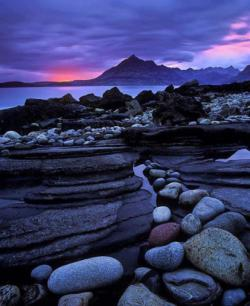 """Elgol Crimson"" ~ Elgol, Isle of Skye, Scotland"