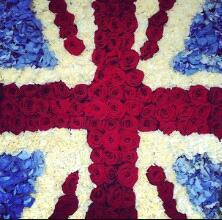 that is a flag london from flower