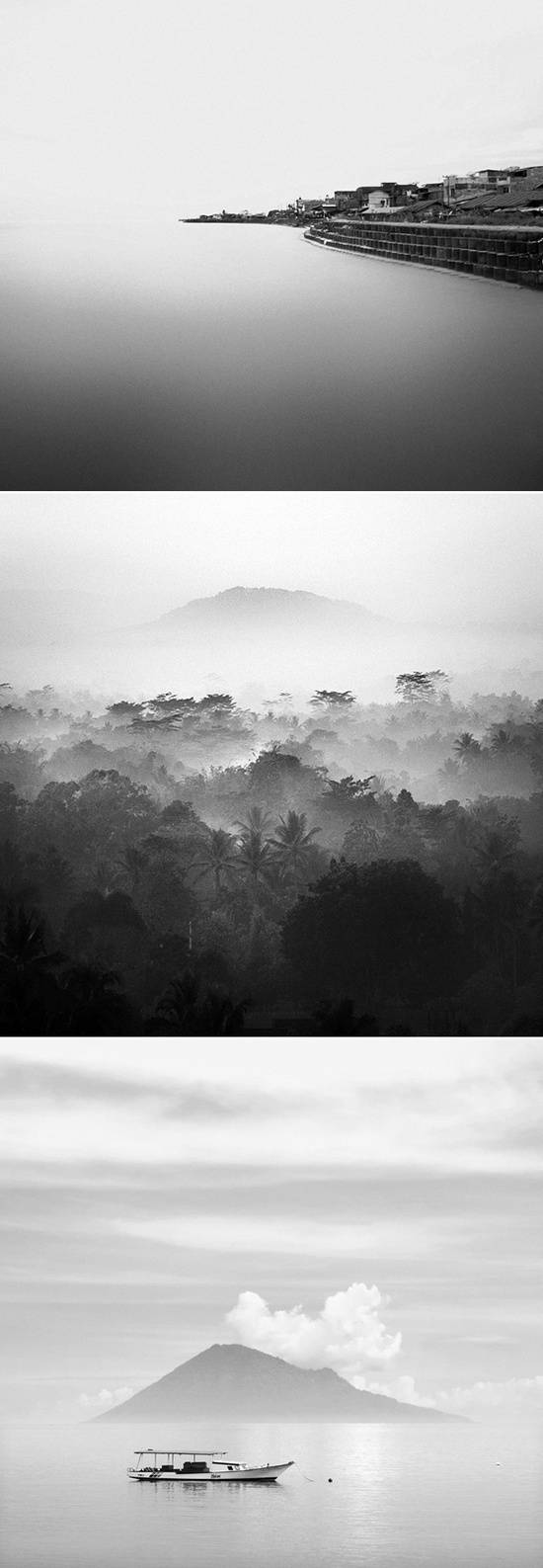 Black and white photography,keindahan indonesia