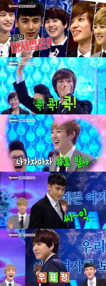 """Nichkhun, Kevin, Kyuhyun, dan Niel Bertarung untuk Mendapatkan Gelar """"Best Flower Son"""" *Hayo kalian milih siapa?*"""