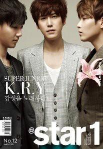 Kyuhyun Ryewook and Yesung