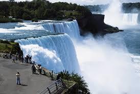 Wow Indah nya. Air terjun Niagara fast canada...!