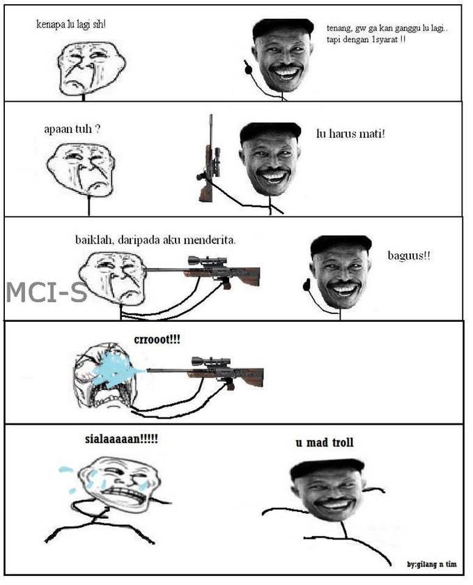 Kasian banget tu si troll.. :D WOWnya dong... :)