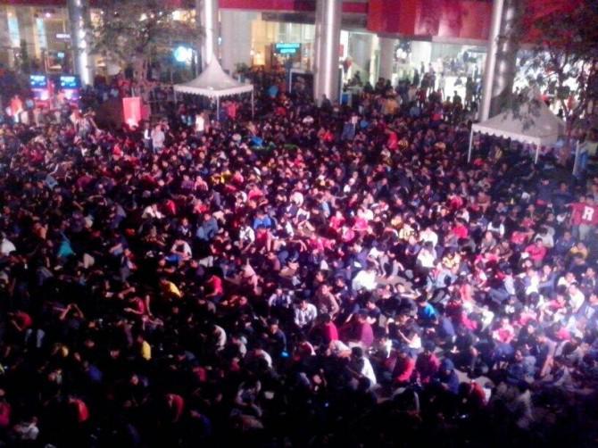 3500 Orang Memadati #SemarakNobar & Community Festival Munchen V Dortmund. Epicentrum Walk 25 & 26 Mei 2013