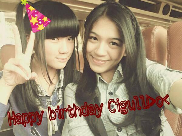 Happy Birthday Cigull ( Cindy Gulla ) Makin Kawai Yah...