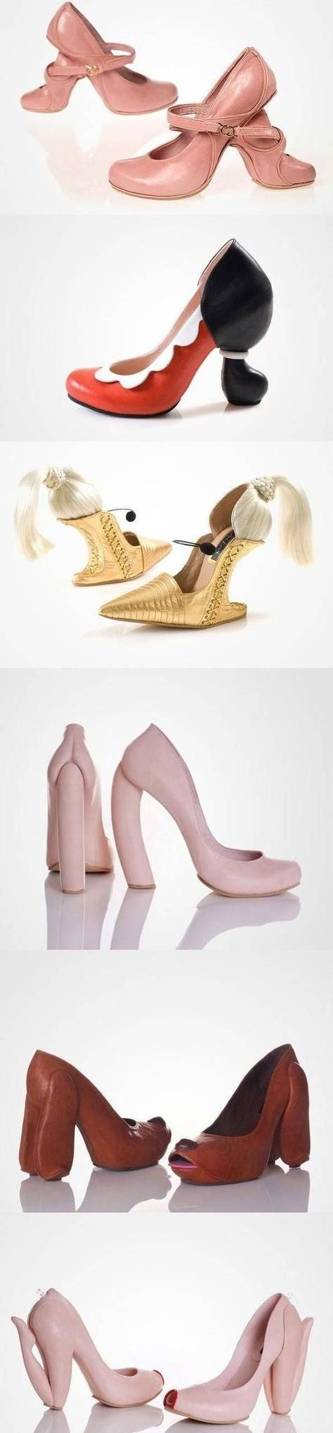 sepatu high heels yang unik (3)