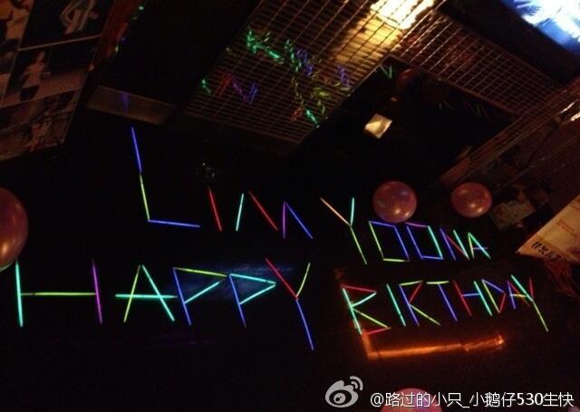 """""""Happy Birthday Lim Yoona :) I hope you always healthy WHENEVER ! WHEREVER!"""" Berikan WOW mu sebagai ucapan ulang tahun untuk Yoona di hari ulang tahun nya :)"""