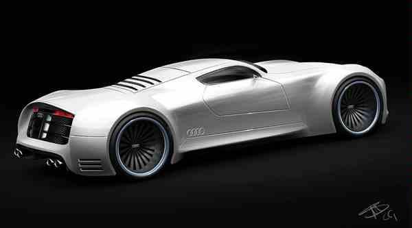 Audi concept....sepintas kaya pagani yaa....wow nya