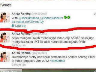 Beginilah cara Anissa Rahma diam-diam mendukung girlband lain? MENYEBALKAN