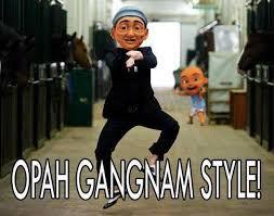 Upin,Ipin,Kak ros,Oppa.Oppa gangnam style eeeaaa....hahaha...Wownya dong