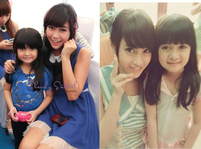 Afika Apa Berfoto Cocok ama Anisa Chibi Apa Ama Nabila JKT48 !!