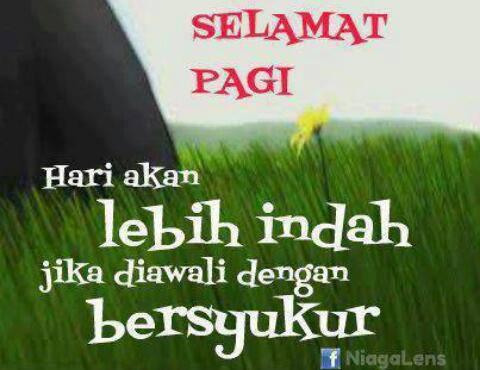 Alhamdulillah Selamat Pagi