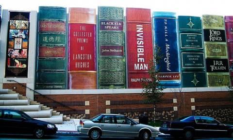 ini rak buku atau bangunan?..wow