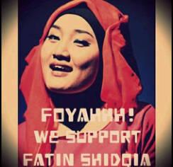 Lirik lagu Fatin shidqia aku memilih setia