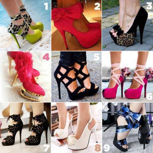kalian suka model sepatu yang kaya gimana buat masa depan kalian kl aku no 4 sama no 8