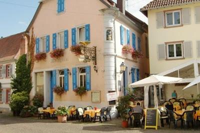 Pinky Cafe! http://divonewsclips.blogspot.com/2013/05/freinsheim-city-tour-lets-enjoy-pretty.html