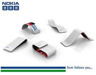 ini adalah salah satu handphone di dunia saat ini. Nokia 888 communicator adalah handphone dengan konsep futuristic. Yang membuatnya keren adalah baterainya menggunakan licuid, itu sejenis cairan kimia. bilang WOW, coy :D