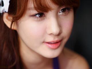 seohyun snsd tanpa make-up.para sone wow-nya dong :*