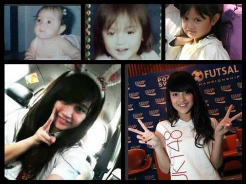 Nii sobat Plusk. foto NABILA JKT48,mulai dari kecil sampai skarang . :) WOoow nya ya .