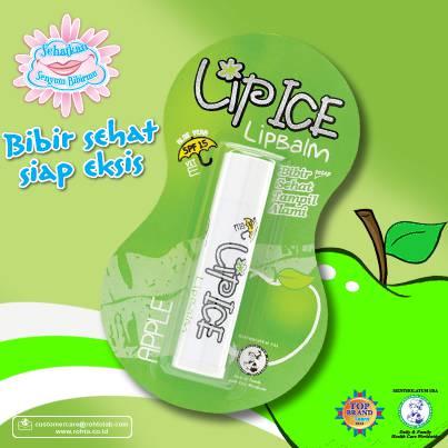 Happy Day , Girls ^^ hari kamu enggak akan lengkap kalau belum pakai Lip Ice Fruity supaya bibir kamu makin eksis dan lembab tentunya..