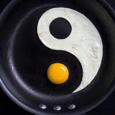 Ying Yang dari Telur