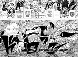 3 legenda sannin terbaru Sakura,Naruto,Sasuke. Ini komik naruto chapter 633