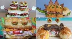 Lucunya Kreasi Monster Makanan Karya Seniman Amerika