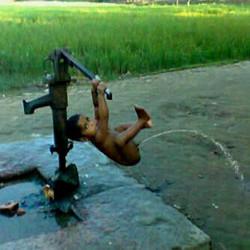 ni dia mesin pompa air terbaru wekwekwek