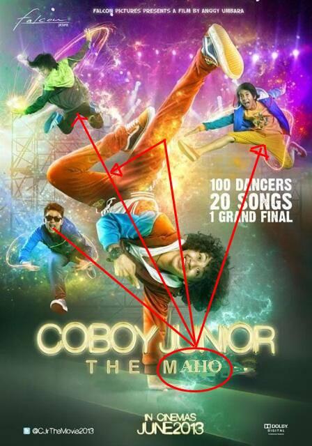 coboy junior the MAHO itu lebih bagus untuk judul film CJR.. noww,,lihat deh iqbal..APA GAYA CBA?? :/ ACJR WOW NYA DONKK..!! ;D