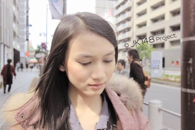 wah melody JKT48 nih gan cantik kaan ? jangan lupa WOWnya