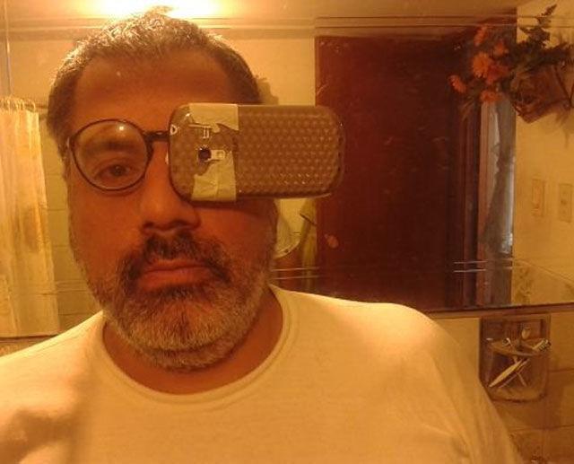 Google Glass versi Mureee... haha