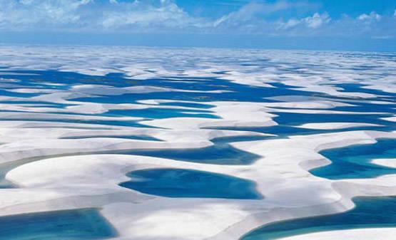 Lencois Sand Dunes, Brazil