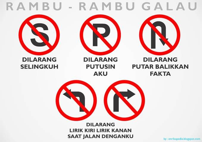 RAMBU - RAMBU GALAU. Hehehe :D WOW.ny yaaa??? ;)