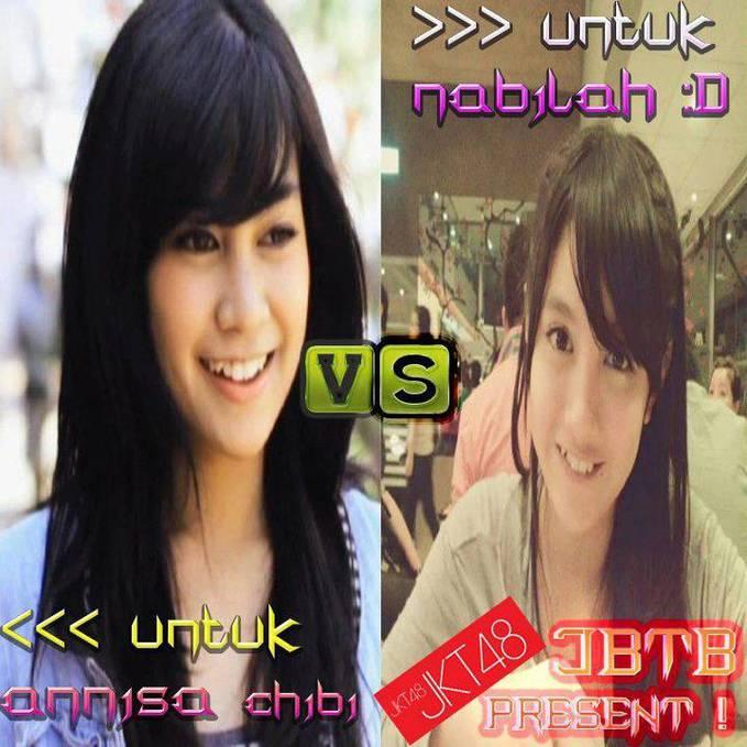 Pilih mana nih? Anisa Chibi Or Nabila JKT48 ??