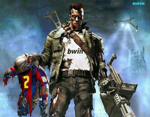Ini baru GREGET. Madrid versi Terminator hancurkan barcelona. WOW nya ya !!!