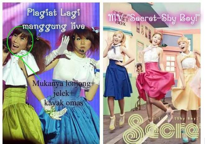 """Lagi"""" CherryBelle plagiat lagi.. Coba kalian perhatikan Gaya orang yg aku bulettin.. + Bajunya.. Hampir sama kan modelnya.. !! Jadi udah ketarakan kalau CherryBelle PLAGIATTORR sejati di INDONESIA INI..!!!"""