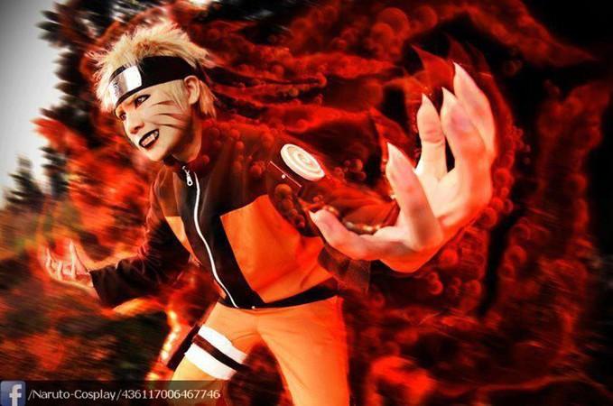 (Cosplay Naruto) Sedikit Di edit !! Uzumaki Naruto(5 tails)