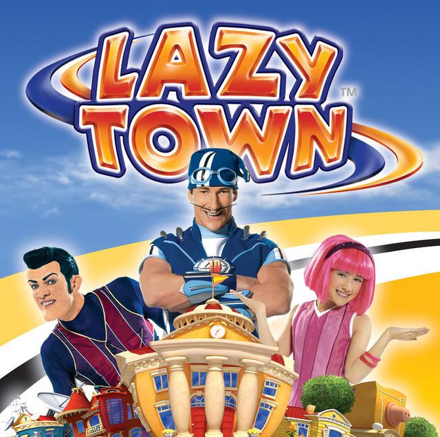 masih inget dengan serial kartun yang satu ini? ya ! Lazy Town ! dengan pemeran utama Sportacus, Stephanie, dan Robert, yang tayang di Global TV tahun 2006/2007