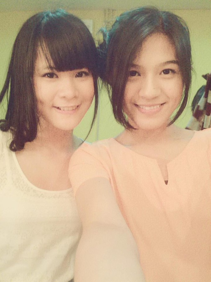 Delima with Gaby... :3