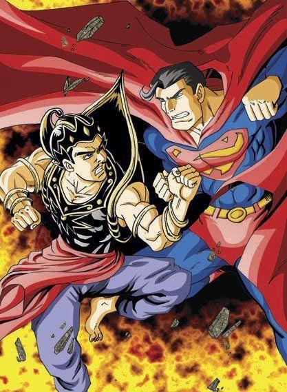 tawuran gatot kaca vs super man