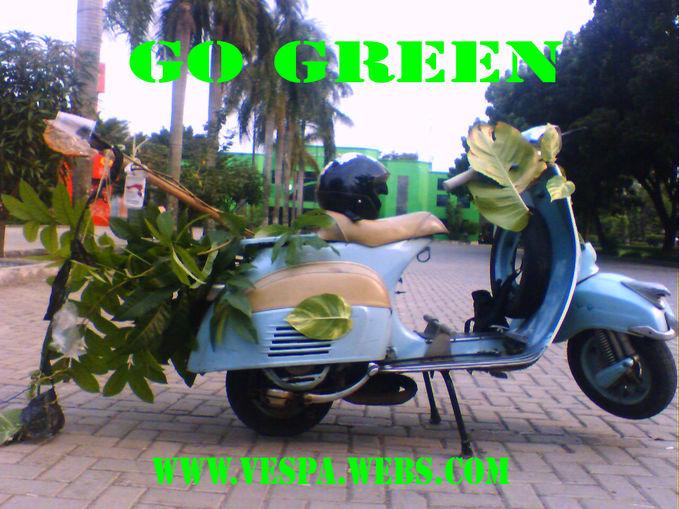 vespa go green