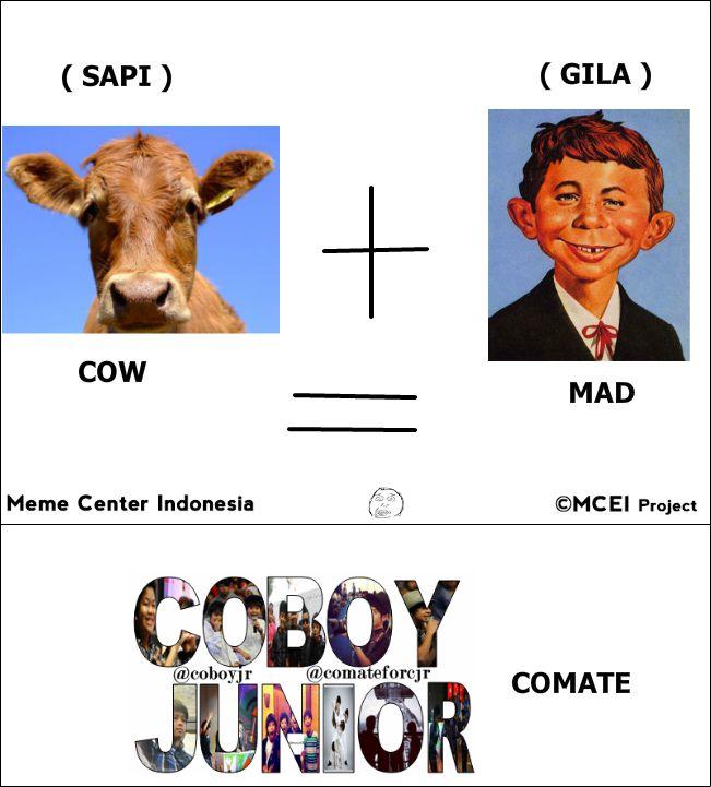 yang ngerti, jangan lupa klik wow ,, Cow + Mad = COMATE