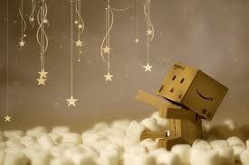 danbo papercaft :,(