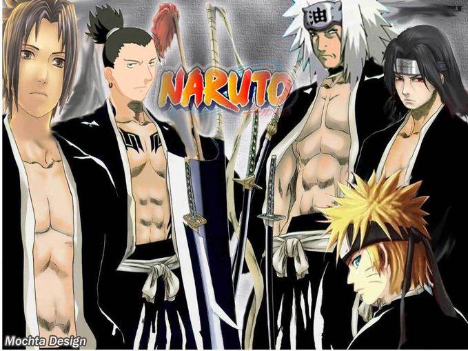 Gini nih jadinya kalau Naruto dkk pindah ke Bleach .