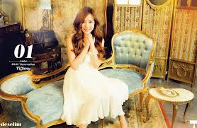 foto Tiffany SNSD yang bilang cantik WOW nya ya para sone dan fans nya Tiffany