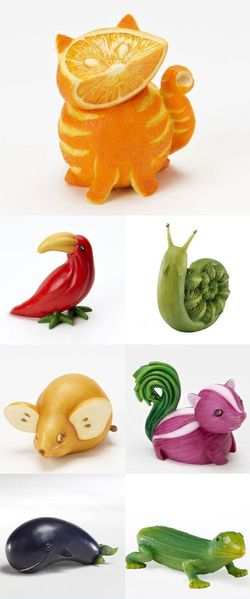 Fruit animals :)