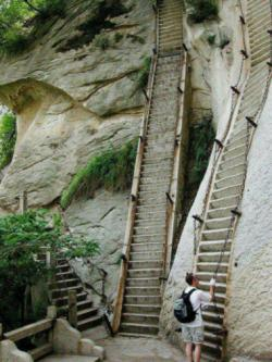 The most dangerous hike in the world: Mt. Huashan, China