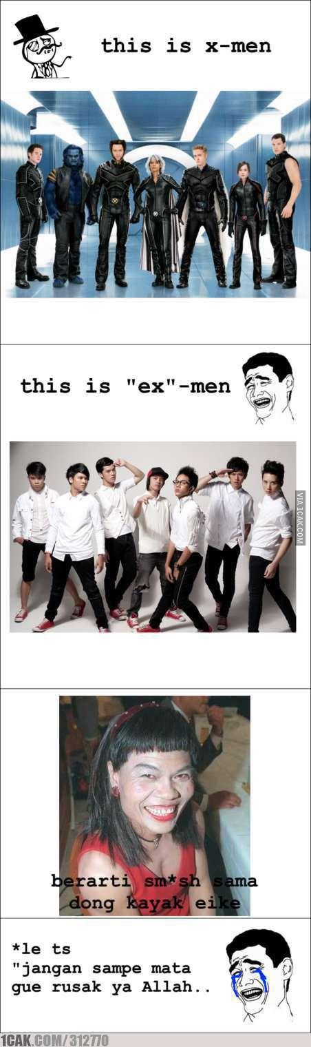 this is x-men.............